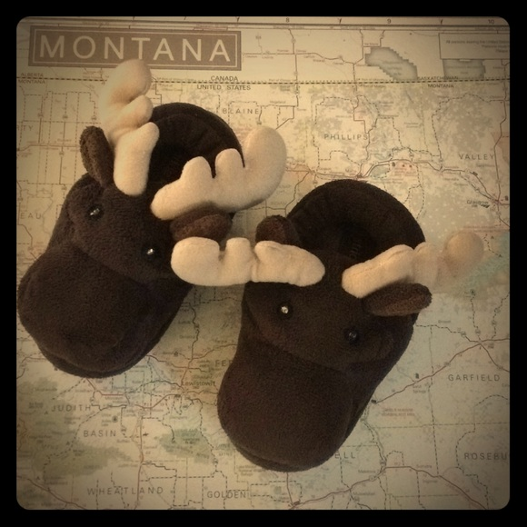 011122f44 Stride Rite, Moose, Light Up Slippers, Size 7/8. M_5a5517fd45b30c7aab05c4fe